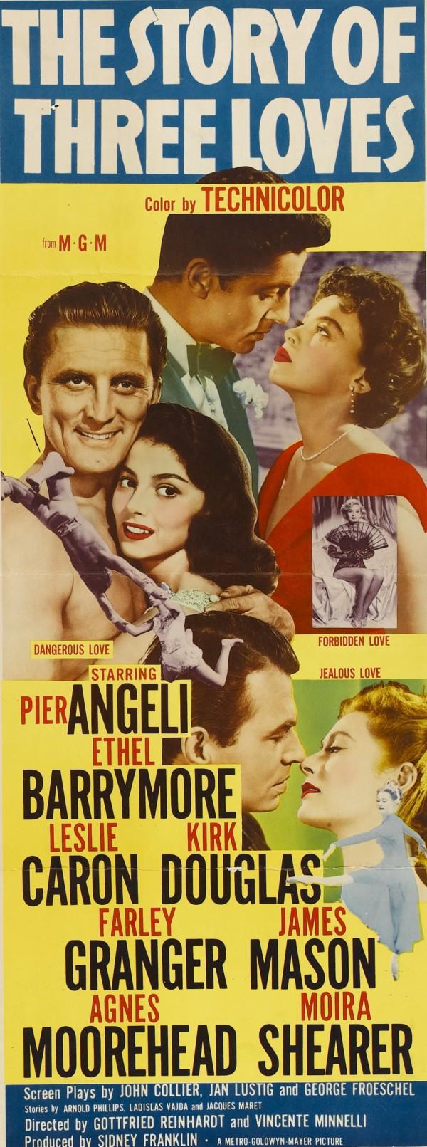 The Story of Three Loves filmsgradedcom The Story of Three Loves 1953